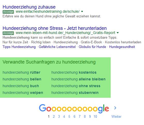 Google-Suggest-Vorschlaege-Seitenende