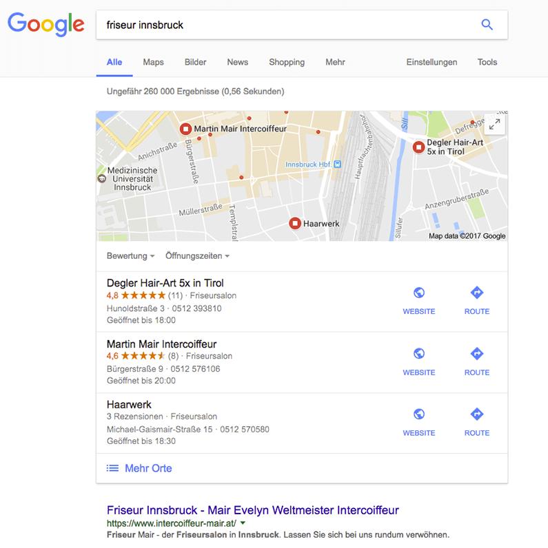 google-suche-screenshot-friseur-innsbruck